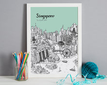 Load image into Gallery viewer, Personalised Singapore Print-7