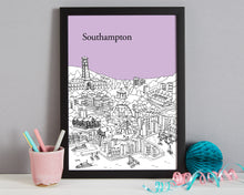 Load image into Gallery viewer, Personalised Southampton Print-3