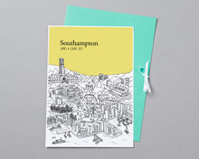 Load image into Gallery viewer, Personalised Southampton Print-6