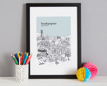 Load image into Gallery viewer, Personalised Southampton Print-4