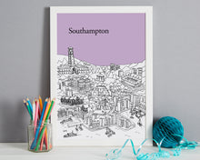 Load image into Gallery viewer, Personalised Southampton Print-7