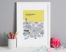 Load image into Gallery viewer, Personalised Southampton Print-8