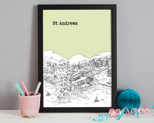 Load image into Gallery viewer, Personalised St Andrews Print-8