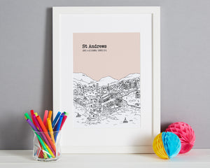 Personalised St Andrews Print-6