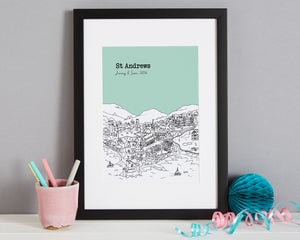 Personalised St Andrews Print-3