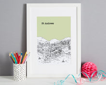 Load image into Gallery viewer, Personalised St Andrews Print-1