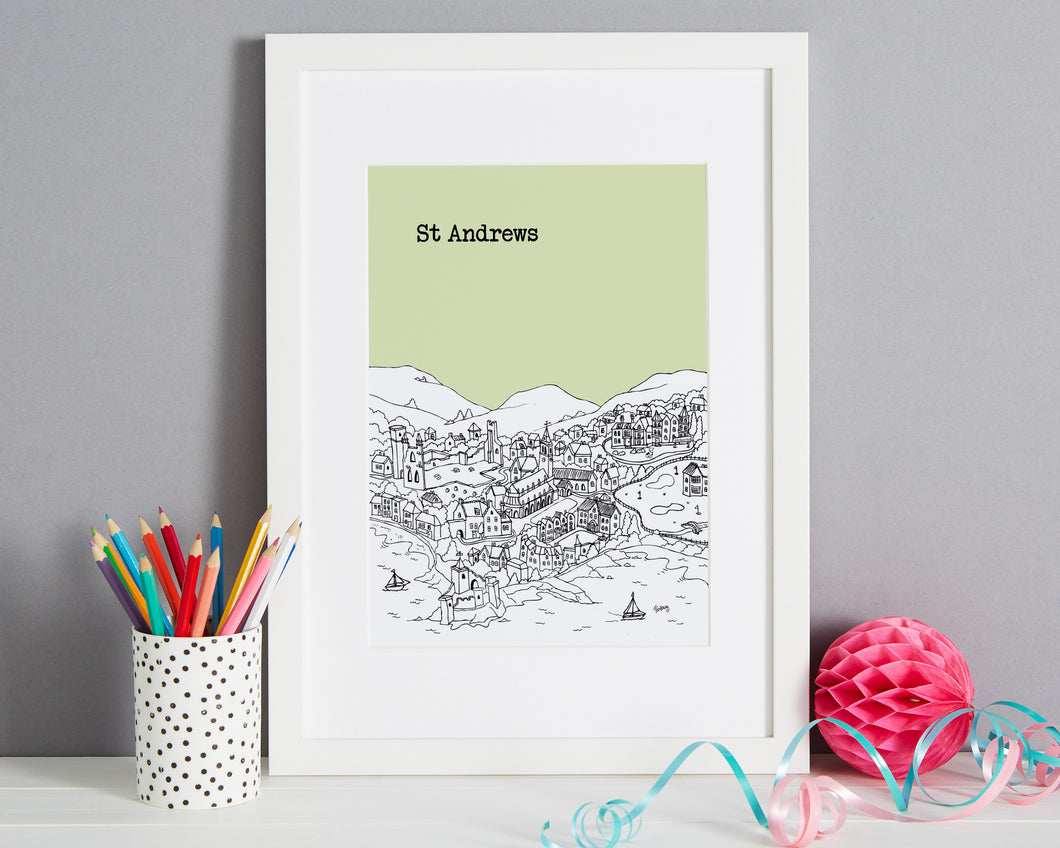 Personalised St Andrews Print-1