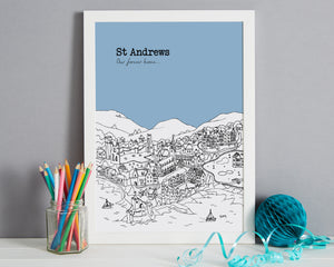 Personalised St Andrews Print-7