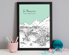 Load image into Gallery viewer, Personalised St Maarten Print-7
