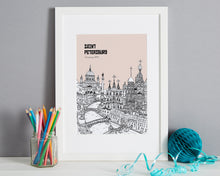 Load image into Gallery viewer, Personalised St Petersburg Print-1