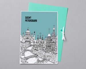 Personalised St Petersburg Print-4