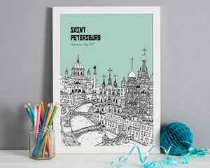 Personalised St Petersburg Print-5