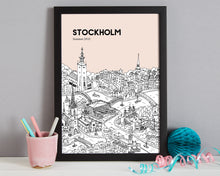 Load image into Gallery viewer, Personalised Stockholm Print-8