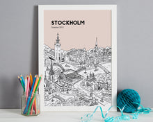 Load image into Gallery viewer, Personalised Stockholm Print-7