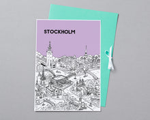 Load image into Gallery viewer, Personalised Stockholm Print-4