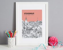 Load image into Gallery viewer, Personalised Stockholm Print-1