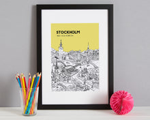 Load image into Gallery viewer, Personalised Stockholm Print-3