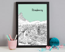Load image into Gallery viewer, Personalised Strasbourg Print-8