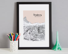 Load image into Gallery viewer, Personalised Strasbourg Print-3
