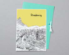 Load image into Gallery viewer, Personalised Strasbourg Print-4