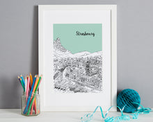 Load image into Gallery viewer, Personalised Strasbourg Print-1