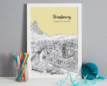 Load image into Gallery viewer, Personalised Strasbourg Print-6
