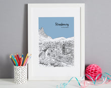Load image into Gallery viewer, Personalised Strasbourg Print-7