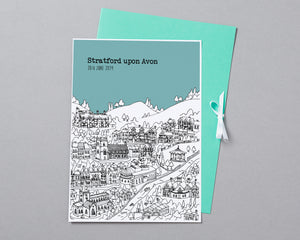 Personalised Stratford upon Avon Print-3