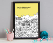 Load image into Gallery viewer, Personalised Stratford upon Avon Print-8