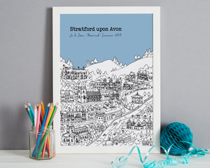Personalised Stratford upon Avon Print-7