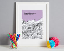 Load image into Gallery viewer, Personalised Stratford upon Avon Print-6
