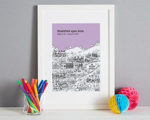 Personalised Stratford upon Avon Print-6