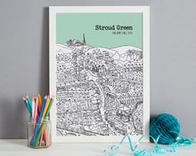 Load image into Gallery viewer, Personalised Stroud Green Print-7