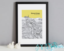Load image into Gallery viewer, Personalised Stroud Green Print-3