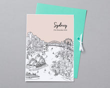 Load image into Gallery viewer, Personalised Sydney Print-4