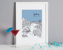 Load image into Gallery viewer, Personalised Sydney Print-1