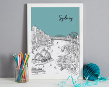 Load image into Gallery viewer, Personalised Sydney Print-6