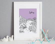 Load image into Gallery viewer, Personalised Sydney Print-5