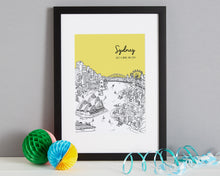 Load image into Gallery viewer, Personalised Sydney Print-3