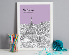 Load image into Gallery viewer, Personalised Toulouse Print-5