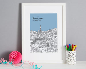 Personalised Toulouse Print-1