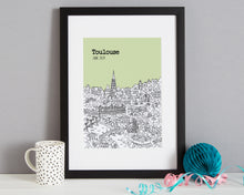 Load image into Gallery viewer, Personalised Toulouse Print-3