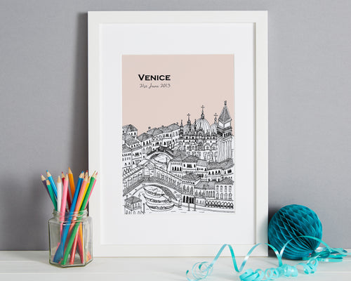 Personalised Venice Print-1