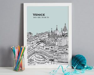 Personalised Venice Print-5