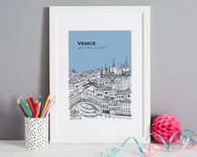 Load image into Gallery viewer, Personalised Venice Print-6