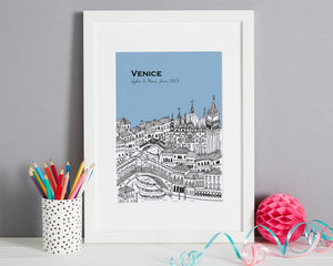 Personalised Venice Print-6