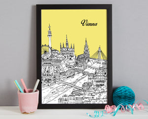 Personalised Vienna Print-7
