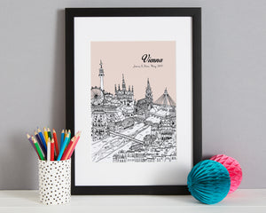 Personalised Vienna Print-1
