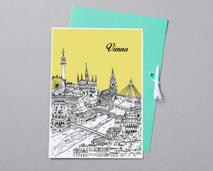 Personalised Vienna Print-3