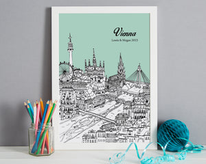 Personalised Vienna Print-6